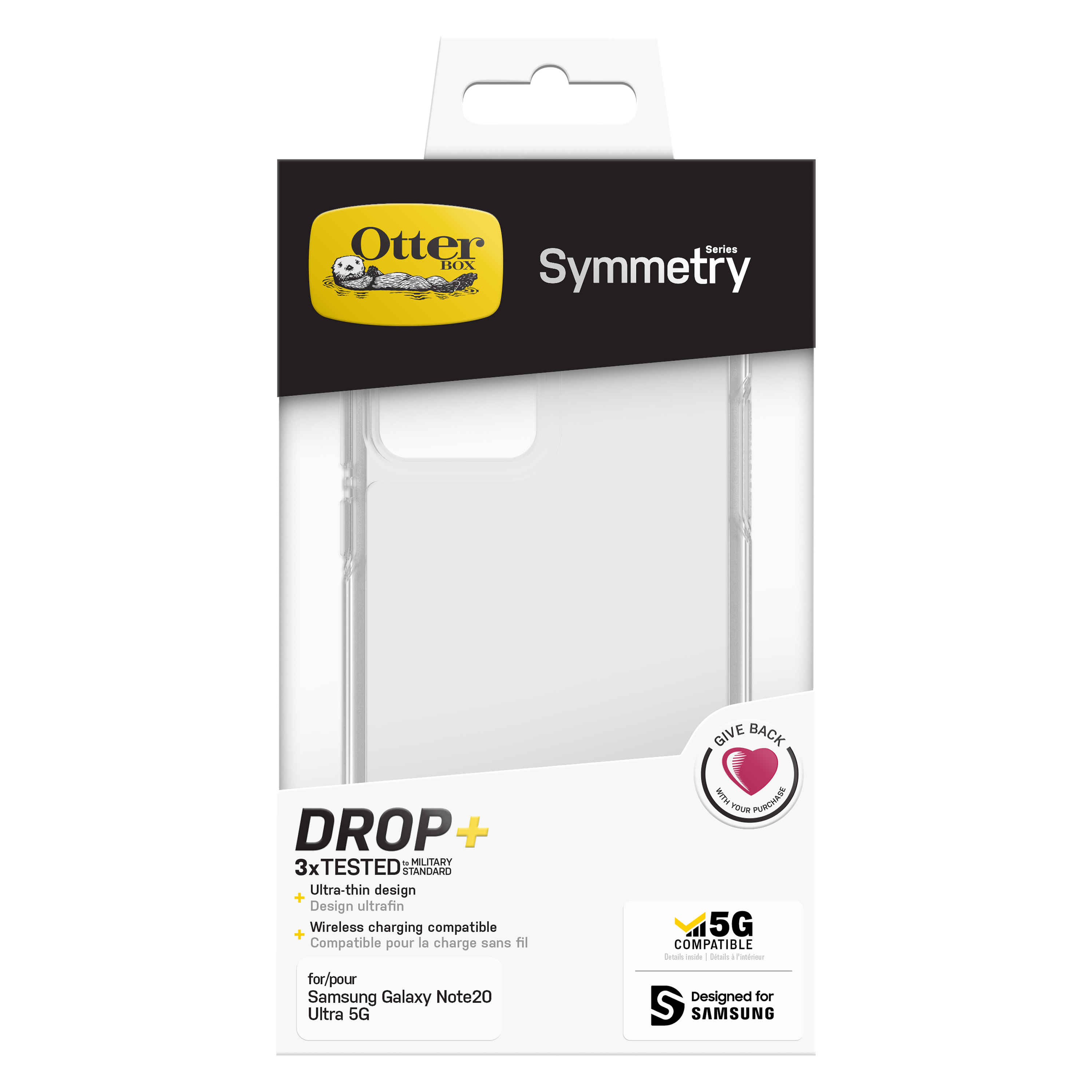 OtterBox Note 20 Ultra Symmetry Clear