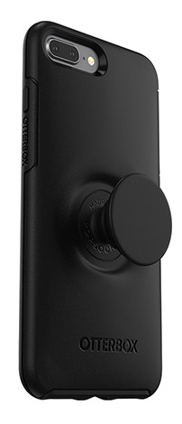 Otter + Pop Symmetry Apple iPhone 8 Plus /7 Plus - black