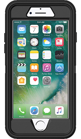 Otterbox Defender iPhone 8/7 Black