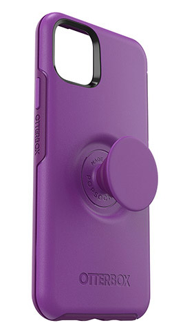 Otter + Pop Symmetry Lollipop for iPhone 11 - purple