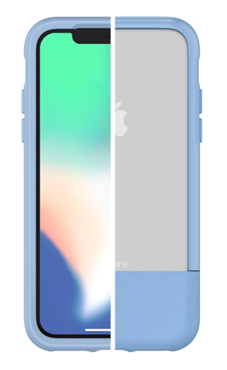 OtterBox Statement Slim Case iPhone X/Xs  Light Wash + Alpha Glass