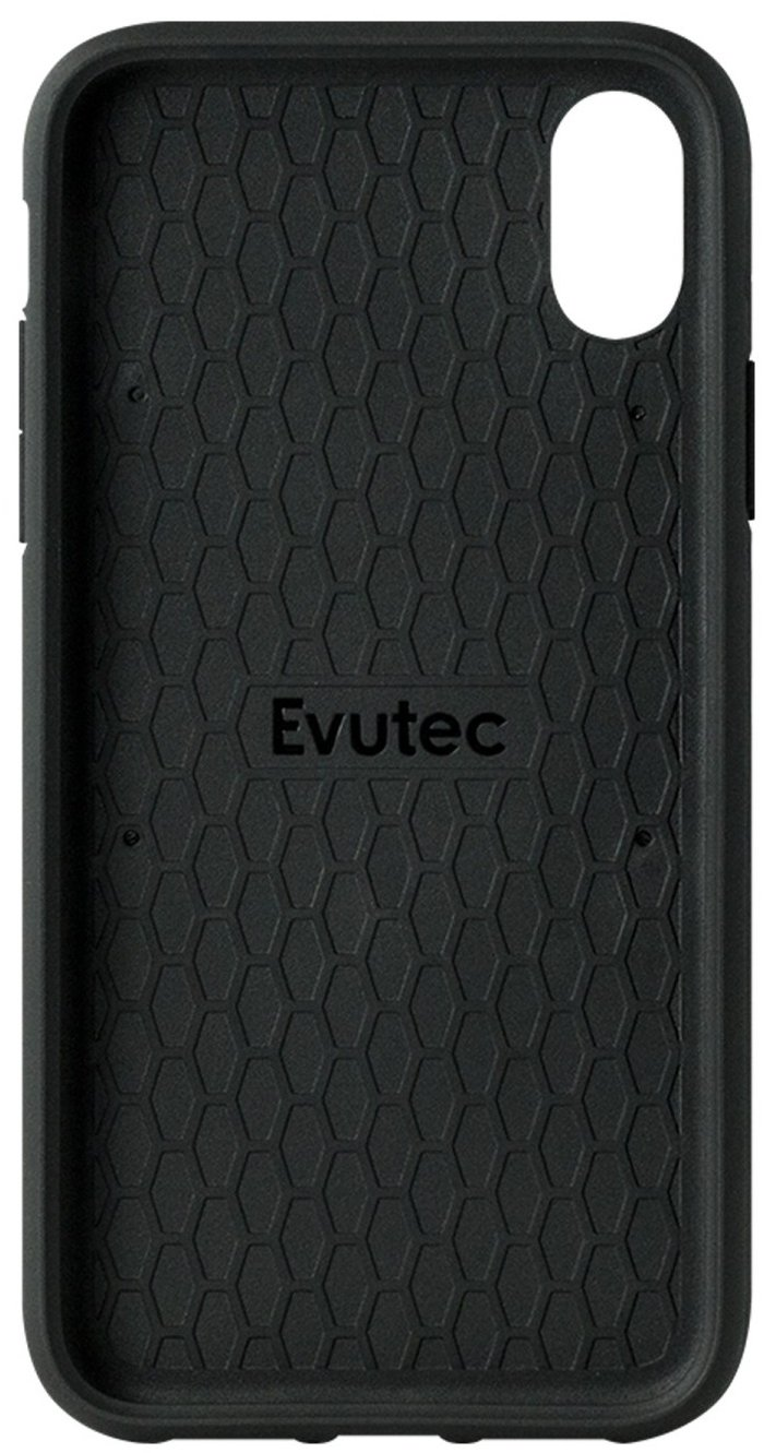 Evutec iPhone XS Max Ballistic Nylon Case w/Vent Mount - Black