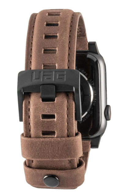 "UAG Apple Watch 40""/38"" Leather Strap- Brown"