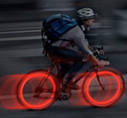 See'Em™ Mini LED Spoke Lights - 2 Pack - Red