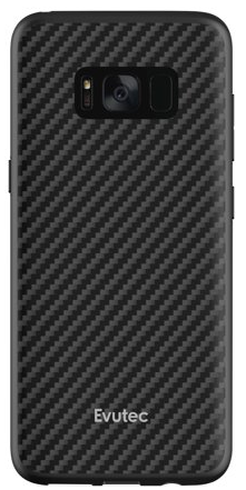 Evutec Galaxy S8  Aer With Mount - Karbon Black