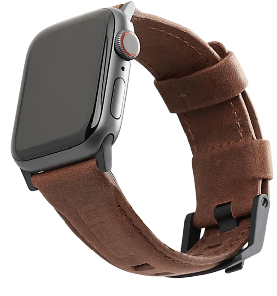 "UAG Apple Watch 40""/38"" Leather Strap"