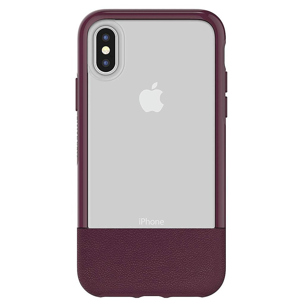 OtterBox iPhone X/Xs  Statement Slim Case + Alpha Glass