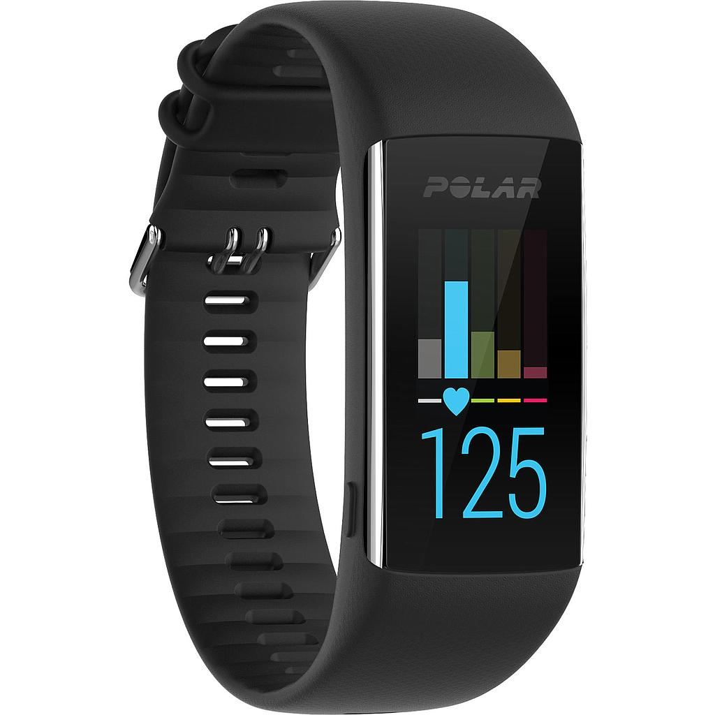 Polar A370 Waterproof Fitness Tracker /BLK